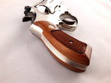 "Beautiful Smith and Wesson Model 19-5 .357 Magnum 2 1/2"" Mirrored Nickel Revolver - 4 of 13"