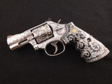 """Jeffrey Flannery Engraved Smith and Wesson Model 686-6 2 1/2"""" .357 Magnum Revolver"""