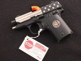 "Sig Sauer P238 ""Stand for the National Anthem"" Limited Edition .380 acp Semi-Automatic Pistol"