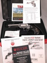 ruger single seven .327 federal magnum revolver with factory case