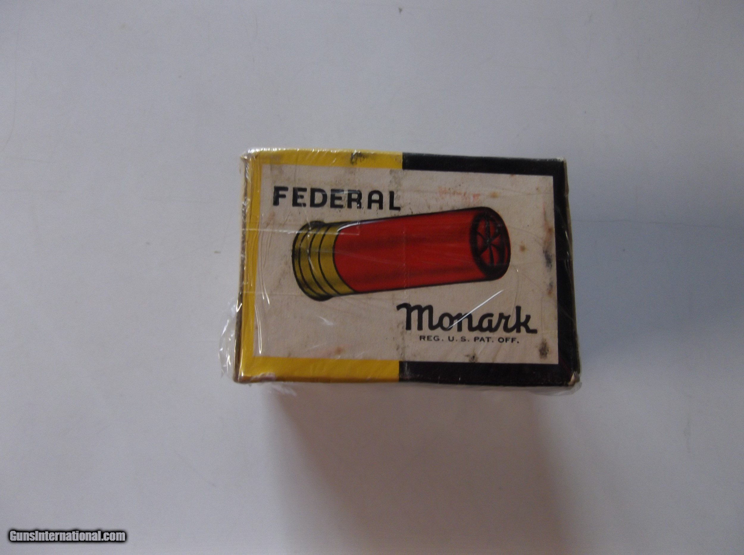 20 Ga Federal Monark Paper Target Load Shot Shells