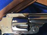 Smith & Wesson 38 Safety DA Hammerless Fine English Watson Brothers Retailed Cased Nickel Pair of Revolvers - 9 of 12