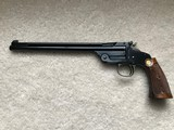 """Rare Club Pistol Smith & Wesson Second Model of 1891 22 LR 10"""" Barrel with weights"""