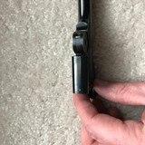 "Smith & Wesson First Model Single Shot Target Pistol Barrel 6"" 22 LR Blued also for Model of 91 38 Single Action Revolver - 5 of 6"
