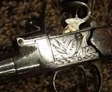 Antique English Flintlock Derringer by Henry Nock of London - 9 of 15