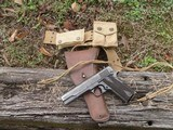 ww1 colt 1911 mfg 1918 with belt and holster rig