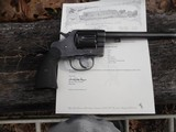 colt new service 44-40 early gun 1904 letter