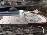 krieghoff hubertus 270 win engraved sideplates ,paperwoork - 10 of 11
