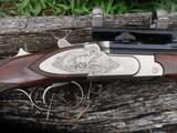 krieghoff hubertus 270 win engraved sideplates ,paperwoork - 9 of 11