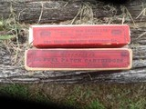 2 boxs 7mm mauser ammo 100 years old