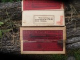 2 boxs 7mm mauser ammo 100 years old - 4 of 4
