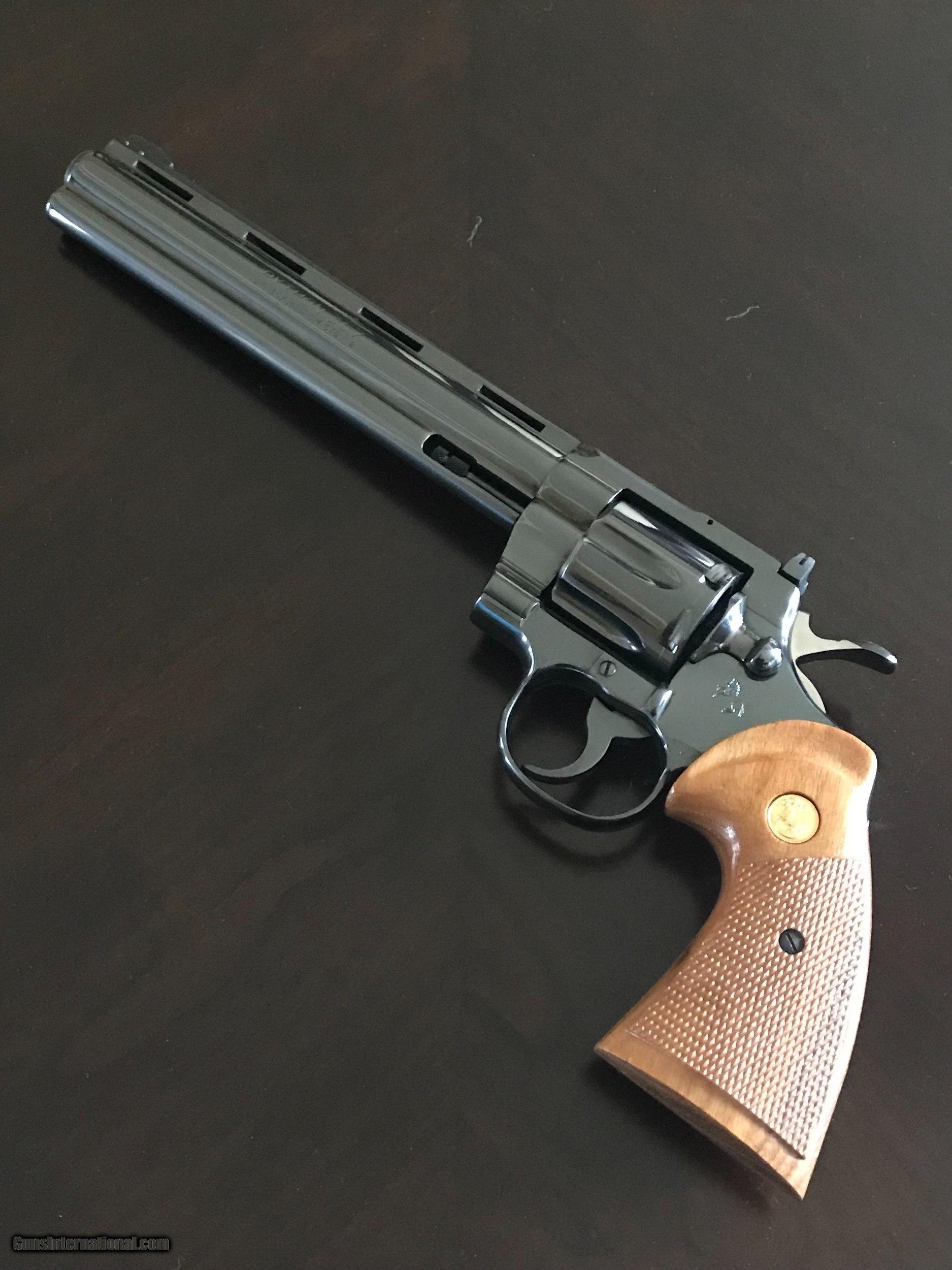 "Colt Python  357 Magnum 8"" Barrel"