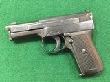 Mauser Pocket Model 1910 6.35 (25acp) sidelatch variation
