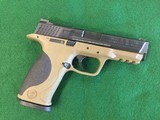 Smith & Wesson M&P9 FDE 9mm