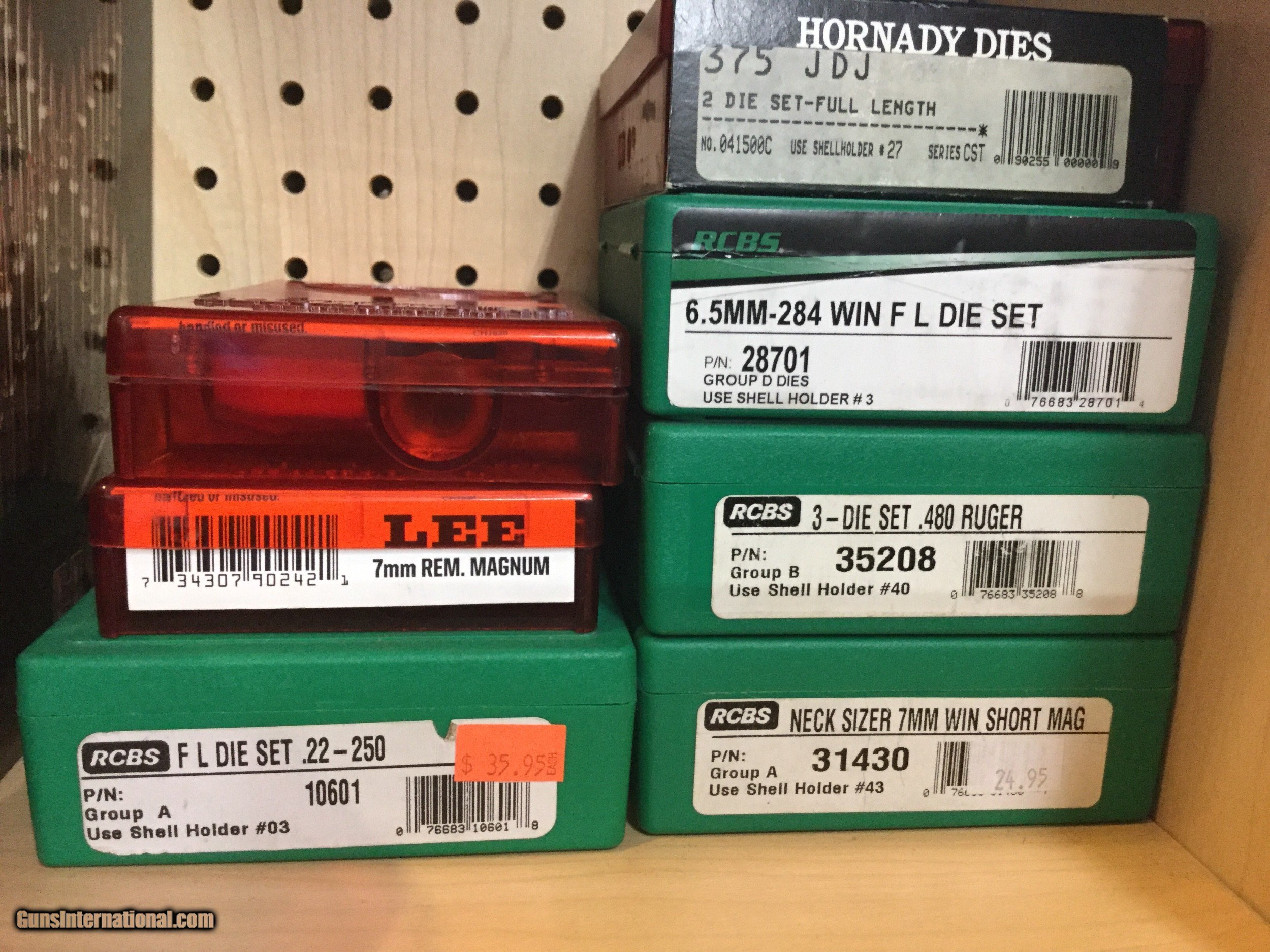 Reloading Dies New & Used Rcbs/Hornady