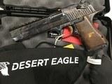 "Magnum Research DE357CH Desert Eagle Mark XIX 357 Mag 6"" 9+1 Case Hardened Carbon Steel Walnut Grip"