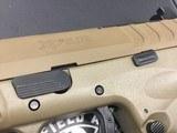 "Springfield Armory XDMET9459FHCOSP XD-M Elite OSP 9mm Luger 4.50"" TB 22+1 Flat Dark Earth - 3 of 3"