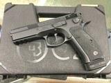 """CZ 91153 CZ 75 SP-01 Tactical 9mm Luger 4.60"""" 18+1 Black Black Steel Slide - 3 of 4"""