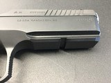 """CZ-USA 91249 Shadow 2 9mm Luger 4.89"""" 17+1 Black Black Steel Slide Orange Aluminum Grip - 7 of 8"""