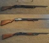 Winchester Model 12 - Stainless Steel - 3-Gun Set ( 12g, 16g, & 20g )