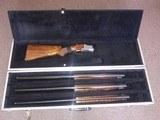 Browning Belgium Superposed Pigeon -3 Barrel Set
