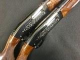Remington 11-48 28ga Shotguns Consec SN Pair w/ Provenance Engraved by Bob Runge - 7 of 8