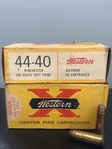 Vintage Winchester Western X 44-40 - 1 of 1