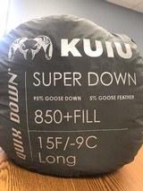 NEW Kuiu Super Down Sleeping Bag, Long, 15F/-9C - 1 of 3