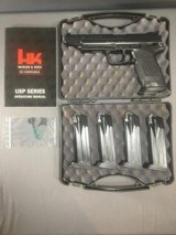 Heckler & Koch Elite .45 ACP with 5 magazines, 2 are LEO