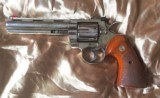 Immaculate Colt Python Stainless Steel 6 inch barrel