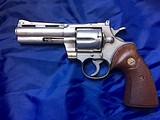 Colt Python .357 Magnum Revolver Nickel 4