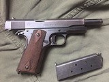 Colt WW I 1911 ACP with two magazines. - 8 of 19