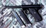 "Ruger (PRE MARK I) .22 LR Semi Auto Pistol. Very Good. 6"" Barrel. Shiny Bore, Tight Action"