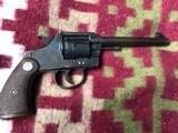 Colt Officers Model Target Revolver Flat top in .38 Colt - 12 of 17