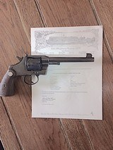 Colt Officers Model Target Revolver Flat top in .38 Colt