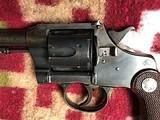 Colt Officers Model Target Revolver Flat top in .38 Colt - 14 of 17