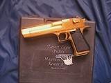 Magnum Research Pistols Desert Eagle Mark XIX .50 A.E. Titanium Gold - 1 of 14