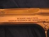 Magnum Research Pistols Desert Eagle Mark XIX .50 A.E. Titanium Gold - 7 of 14