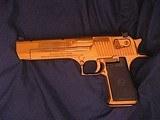 Magnum Research Pistols Desert Eagle Mark XIX .50 A.E. Titanium Gold - 11 of 14