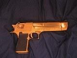Magnum Research Pistols Desert Eagle Mark XIX .50 A.E. Titanium Gold - 3 of 14