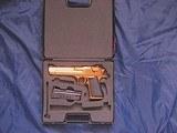 Magnum Research Pistols Desert Eagle Mark XIX .50 A.E. Titanium Gold - 6 of 14