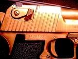 Magnum Research Pistols Desert Eagle Mark XIX .50 A.E. Titanium Gold - 5 of 14