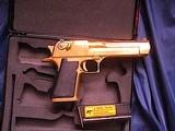 Magnum Research Pistols Desert Eagle Mark XIX .50 A.E. Titanium Gold - 4 of 14