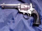 Colt Bisley Model SAA revolver, .45 Colt with Colt Archives letter to Territory of Arizona in 1906 - 2 of 10