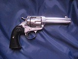 Colt Bisley Model SAA revolver, .45 Colt with Colt Archives letter to Territory of Arizona in 1906