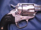 Colt Bisley Model SAA revolver, .45 Colt with Colt Archives letter to Territory of Arizona in 1906 - 8 of 10