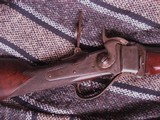 Sharps 45-70 Rifle 1874 Model with Set Trigger and Fire Triggers and Tang Sight - 8 of 17