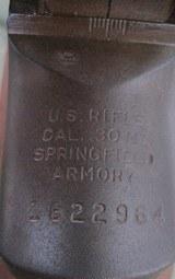 M1 Garand Springfield 0 Muzzle reading, like new barrel.
