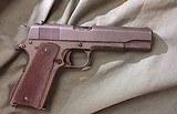 ITHACA 1911 A1 U. S. Army, Semi Auto Pistol .45 ACP