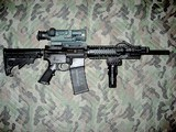Bushmaster XM150-E2S Pistol with Night vision, light and green laser